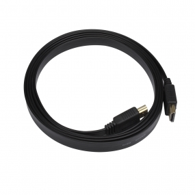 Gold Plated Flat High-Speed HDMI Cable Supports Ethernet/3D and Audio Return
