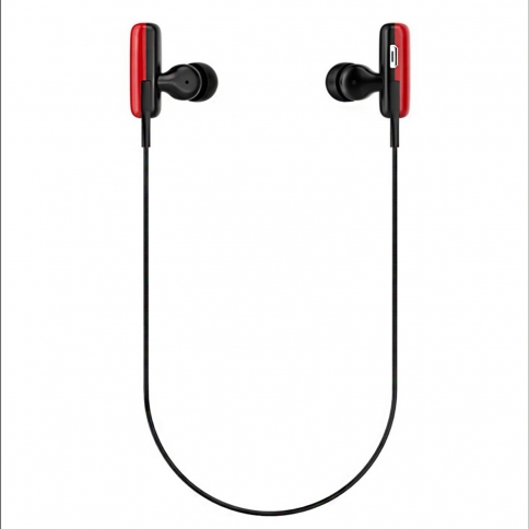 bluetooth headphones headset sport earphones wireless earbuds for running red. Black Bedroom Furniture Sets. Home Design Ideas