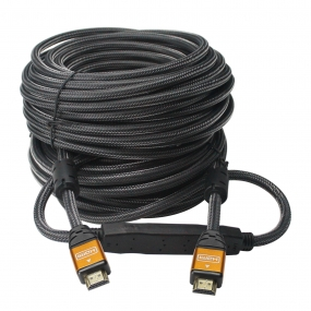 High Speed Ultra HDMI Cable 115 Feet 35M with Professional-Full HD 1080P-24k Gold plated connector