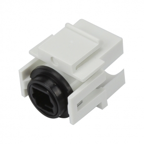 Custom and Design Keystone Jack TOSLINK Female to Female Coupler Adapter