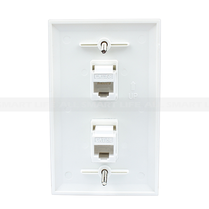 Wiring Rj45 Wall Plate Not Lossing Diagram