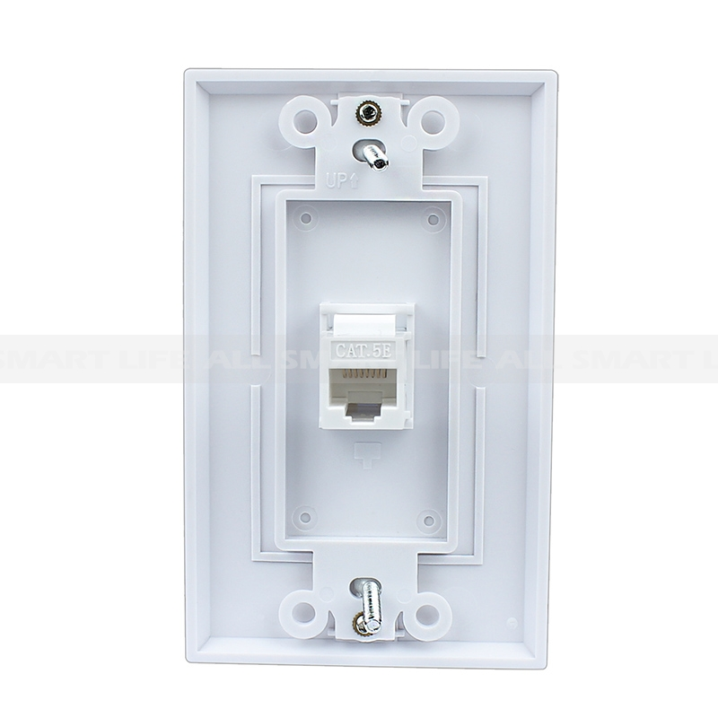 Cat5e Wiring Diagram Wall Plate : Rca rj wall plate wiring diagram cat e jack
