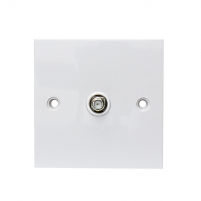 F Type  Coaxial Wall Socket Plate face plate