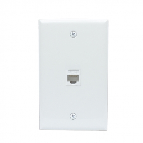 Home Improvement 1 Port Cat6 Female-Female Wall Plates