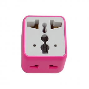 High Performance Universal Adapter Travel Power Adapter Convert - Pink