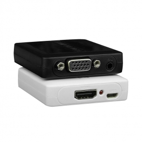 HDMI TO VGA and Audio Converter  for HDMI signal to be converted easily to VGA and audio signal