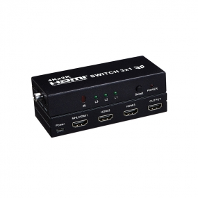 HDMI SWITCH 3x1 support 4Kx2K/MHL function/5.1/ 2.1 audio channel