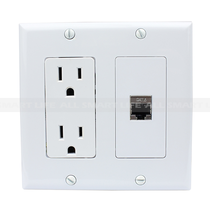 Cable Wall Plate Installation : New portable installation amp electrical outlets and